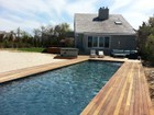 Single Family Home for  rentals at Mecox Bay Front w/Pool & Dock 726 Flying Point Road Water Mill, New York 11976 United States