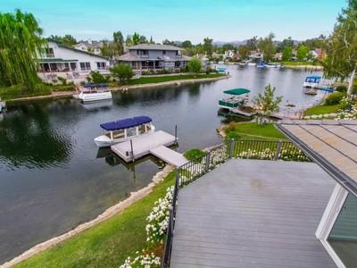 Single Family Home for sales at Westlake Island with Pool/Spa and Views 4051 Mariner Circle Westlake Village, California 91361 United States