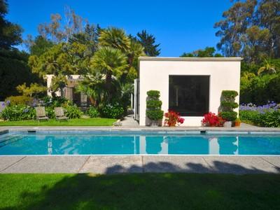 Einfamilienhaus for sales at Montecito Mid-Century Modern 667 Park Lane Montecito, Kalifornien 93108 Vereinigte Staaten