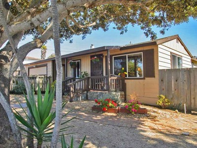 Single Family Home for sales at Spacious Corner Lot with Peak of Ocean 1520 Sonoma Avenue Seaside, California 93955 United States