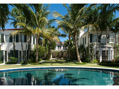 Tek Ailelik Ev for sales at Oceanfront Estate  Palm Beach, Florida 33480 Amerika Birleşik Devletleri
