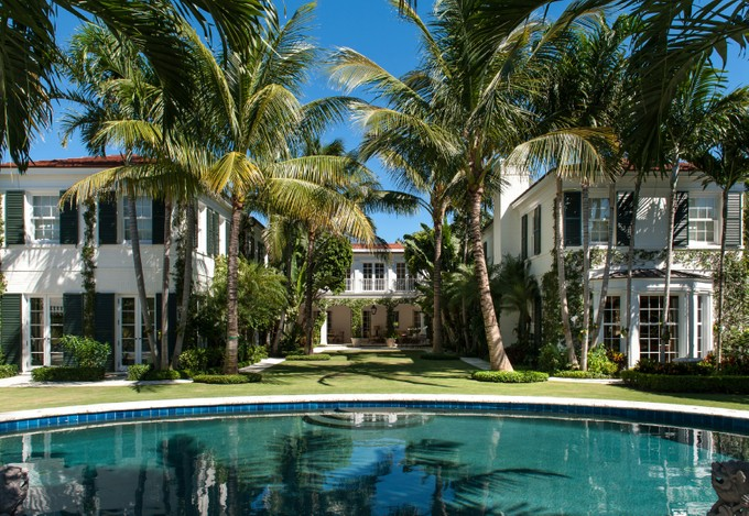 Single Family Home for sales at Oceanfront Estate    Palm Beach, Florida 33480 United States