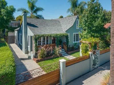 Villa for sales at Lovingly cared for 1923 Country English 813 North Cherokee Avenue  Los Angeles, California 90038 Stati Uniti