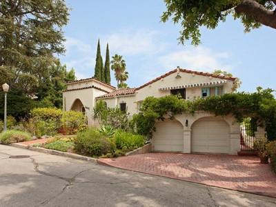 단독 가정 주택 for sales at 2210 Moreno Drive  Los Angeles, 캘리포니아 90039 미국