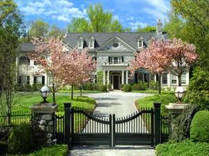 단독 가정 주택 for 판매 at Distinguished Georgian Estate  Greenwich, 코네티컷 06831 미국