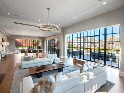Casa para uma família for sales at Puck Penthouses 293 Lafayette Street Ph II   New York, Nova York 10012 Estados Unidos