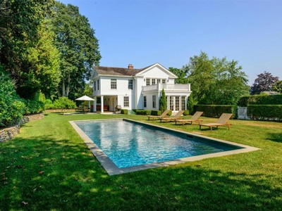 獨棟家庭住宅 for sales at Magnificent Greek Revival 94 Ocean Road  Bridgehampton, 紐約州 11932 美國