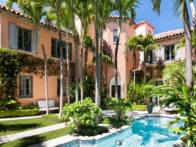獨棟家庭住宅 for sales at Stunning Landmarked Palm Beach Estate 4 Golfview Rd   Palm Beach, 佛羅里達州 33480 美國