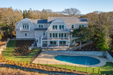 Single Family Home For At Spectacular Ocean Views 6 Uncatena N Falmouth