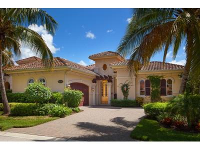 Maison unifamiliale for sales at FIDDLER'S CREEK - CHIASSO 9294  Chiasso Cove Ct  Naples, Florida 34114 États-Unis