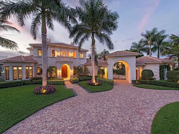Single Family Home for sales at TIBURON 2569  Escada Dr  Naples, Florida 34109 United States