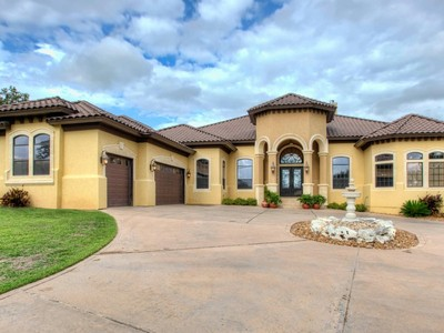 Single Family Home for sales at Gorgeous Mediterranean Home in Iron Horse Canyon 15019 Iron Horse Way San Antonio, Texas 78023 United States