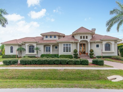 Single Family Home for sales at MARCO ISLAND 190  Angler Ct Marco Island, Florida 34145 United States