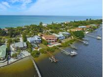 Casa Unifamiliar for sales at MANASOTA KEY 7979  Manasota Key Rd   Englewood, Florida 34223 Estados Unidos
