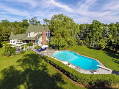 Single Family Home for sales at Victorian 2 Bonnie Ln Shelter Island, New York 11964 United States