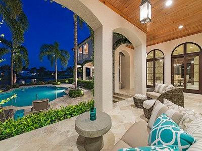 Maison unifamiliale for sales at PORT ROYAL 3605  Fort Charles Dr Naples, Florida 34102 États-Unis