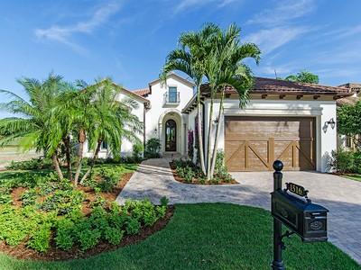 Частный односемейный дом for sales at GREY OAKS - ESTUARY AT GREY OAKS 1540  Marsh Wren Ln Naples, Флорида 34105 Соединенные Штаты