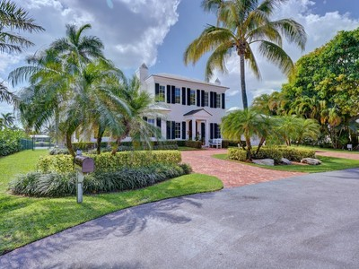 Einfamilienhaus for sales at 578 Palm Way , Gulf Stream, FL 33483 578  Palm Way  Gulf Stream, Florida 33483 Vereinigte Staaten