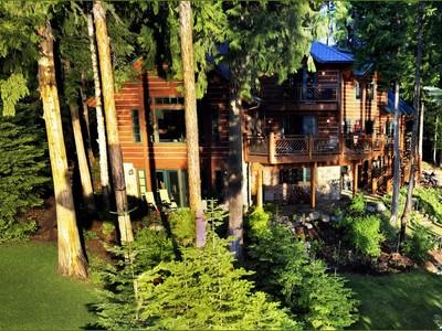 Single Family Home for sales at Swan Lake Estate 14032 Rainbow Drive Bigfork, Montana 59911 United States