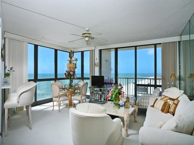 Condominium for sales at MARCO ISLAND - GULFVIEW 58  Collier Blvd  N 1808  Marco Island, Florida 34145 United States