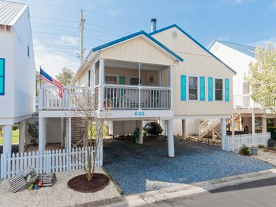 단독 가정 주택 for sales at 642 Sandy Point Rd, Bethany Beach, DE 19930 642  Sandy Point Rd Bethany Beach, 델라웨어 19930 미국