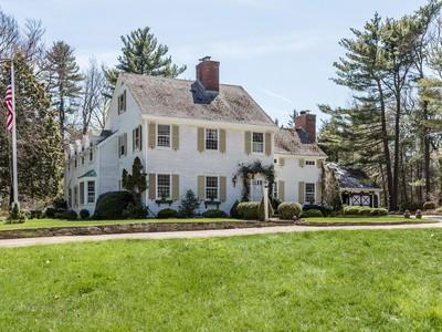独户住宅 for sales at Colonial 152 Brookville Rd Muttontown, 纽约州 11545 美国
