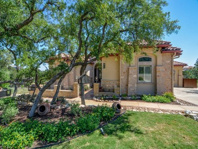 Single Family Home for sales at Mediterranean Estate with Breathtaking Views 19910 Terra Canyon San Antonio, Texas 78255 United States