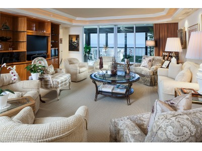 Condominium for sales at PELICAN BAY - MARBELLA 7425  Pelican Bay Blvd PH-2203 Naples, Florida 34108 United States
