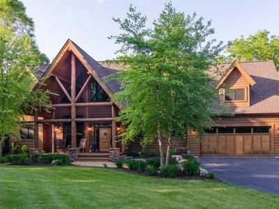 Maison unifamiliale for sales at Bone Lake 12100 228th St  N  Scandia, Minnesota 55073 États-Unis