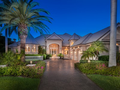 Single Family Home for sales at PELICAN MARSH - BAY LAUREL ESTATES 8663  Blue Flag Way Naples, Florida 34109 United States