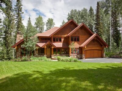 Casa Unifamiliar for sales at 120 High Country Road 120 High Country Road Mountain Village Telluride, Colorado 81435 Estados Unidos