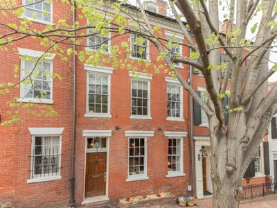 Townhouse for sales at Old Town: 117 Prince Street  Alexandria, Virginia 22314 United States