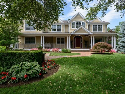 Single Family Home for sales at Colonial 4 Pond View Ct Huntington, New York 11743 United States