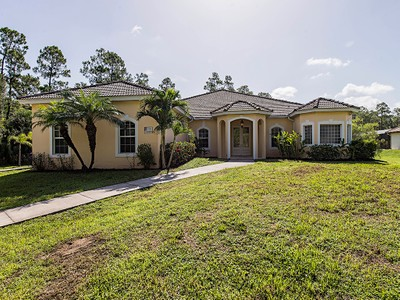 Single Family Home for sales at LOGAN WOODS 270  Logan Blvd  S  Naples, Florida 34119 United States
