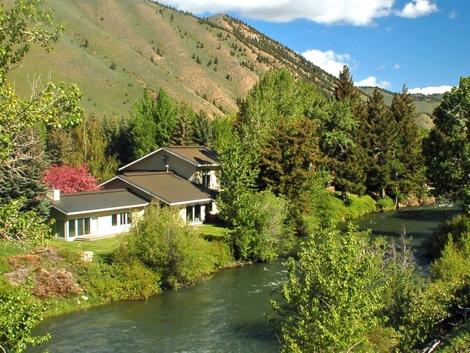Single Family Home for sales at Twenty Feet to the River 141 Audubon Place  Ketchum, Idaho 83340 United States
