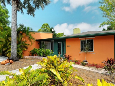 Single Family Home for sales at ARTISTIC GEM WEST OF THE TRAIL 1939  High Point Dr Sarasota, Florida 34236 United States