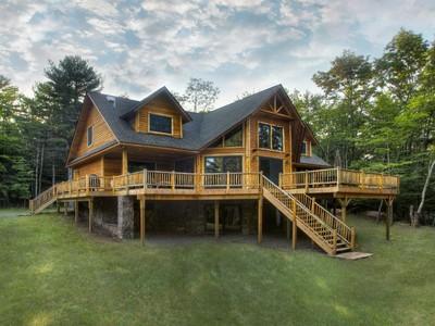 独户住宅 for sales at Adirondack Lodge at the Chapin Estate 222 Sunset Pt Bethel, 纽约州 12720 美国
