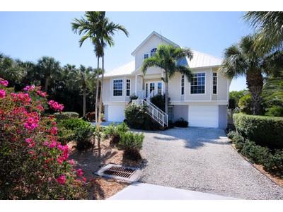 Maison unifamiliale for sales at Sanibel 5427  Osprey Ct  Sanibel, Florida 33957 États-Unis