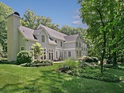 Moradia for sales at Large Home on 20 Acres 4850 Province Line Road Princeton, Nova Jersey 08540 Estados Unidos