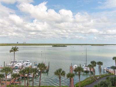 共管式独立产权公寓 for sales at MARCO ISLAND - RIVERSIDE 1085  Bald Eagle Dr 601 Marco Island, Florida 34145 United States