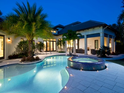 Single Family Home for sales at PARK SHORE 4010  Old Trail Way Naples, Florida 34103 United States