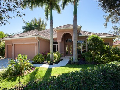 Single Family Home for sales at WILSHIRE LAKES 3987  Stonesthrow Ct, Naples, Florida 34109 United States