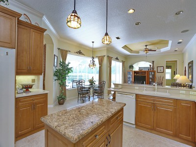 Single Family Home for sales at PELICAN POINTE GOLF & COUNTRY CLUB 1026  Tuscany Blvd Venice, Florida 34292 United States