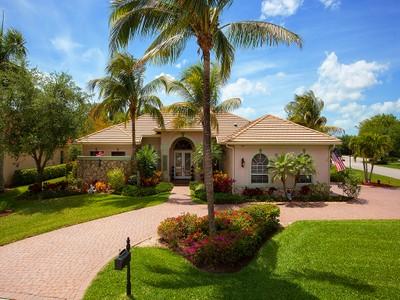 Maison unifamiliale for sales at FIDDLER'S CREEK - MULBERRY ROW 7667  Mulberry Ln Naples, Florida 34114 États-Unis