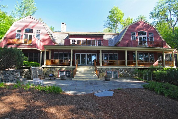 Single Family Home for sales at Beautiful Lake Sunapee Home 206 Bowles Road  Newbury, New Hampshire 03255 United States