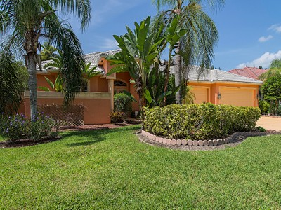 Single Family Home for sales at WILSHIRE LAKES 9901  Clear Lake Cir  Naples, Florida 34109 United States