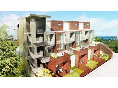 Stadthaus for sales at VANGUARD LOFTS 1343  4th St 203 Sarasota, Florida 34236 Vereinigte Staaten
