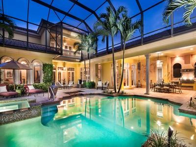 Single Family Home for sales at MEDITERRA - MEDICI 15243  Medici Way Naples, Florida 34110 United States