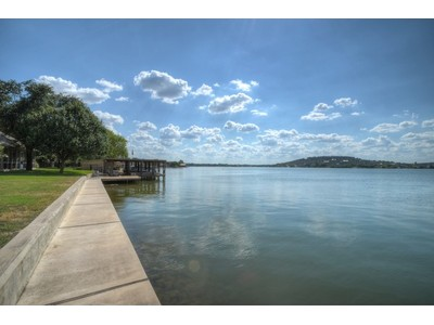 Terreno for sales at Stunning Lake LBJ Waterfront Property 38 Beaver Island Granite Shoals, Texas 78654 Stati Uniti
