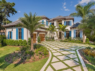 Maison unifamiliale for sales at PORT ROYAL 1001  Spyglass Ln Naples, Florida 34102 États-Unis